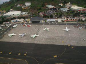Plataforma civil del Aeropuerto de tenerife Norte