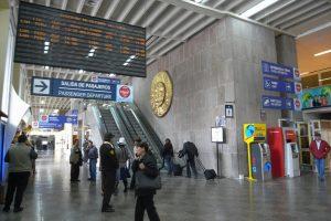 Interiores del Aeropuerto de Cusco