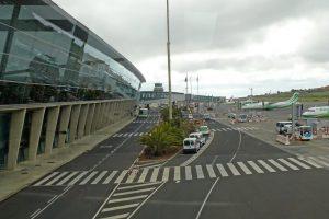 vista lateral del Aeropuerto de Tenerife Norte