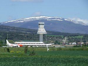 Torre de control del Aerop. de Foronda