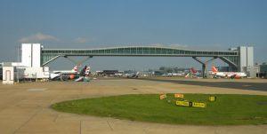 Gatwick Airport bridge
