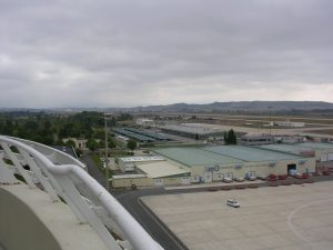 Vista desde la torre de control Aeropuerto Vitoria