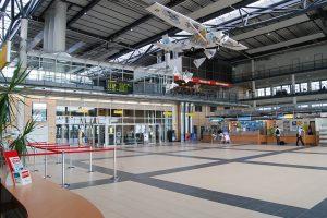 Hall principal del Aeropuerto de Rostock-Laage