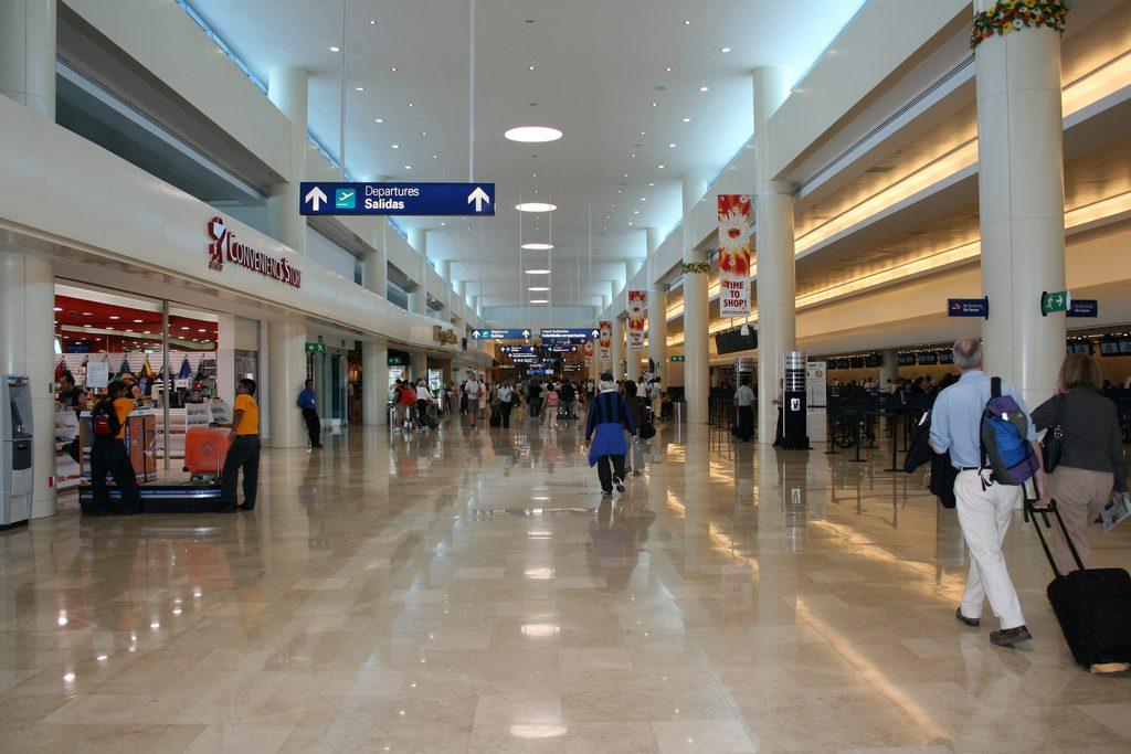 Aeropuerto internacional de canc n cun aeropuertos net for Puerta 6 aeropuerto ciudad mexico