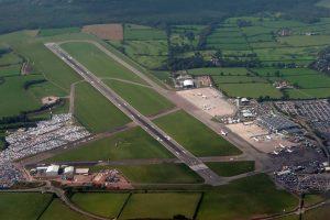 Vista aérea del Aeropuerto de Bristol