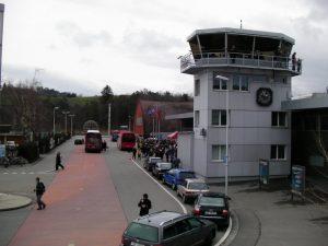 Afueras del Aeropuerto de Berna