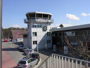 Exterior del Aeropuerto de Berna