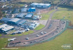 Vista Aérea del Aeropuerto de Oxford