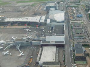 Vnukovo Airport. Moscow