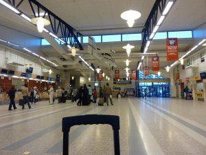 Interiores del Aeropuerto de Estocolmo-Skavsta