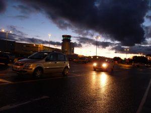 Bristol Airport : de noche