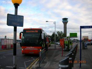 Transporte y desplazamiento en el Aeropuerto de Luton