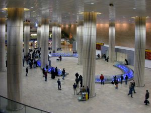 Arrival Hall, Ben-Gurion Airport