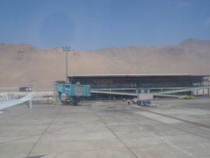 Aeropuerto desde el avión