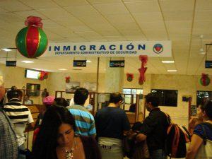 Departamento de Inmigración Aeropuerto de Cartagena