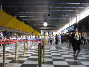 Instalaciones del Aeropuerto de Sao Paulo