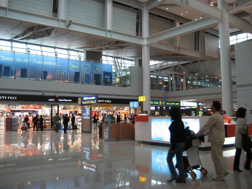 Aeropuerto Internacional De Incheon Icn Aeropuertos Net