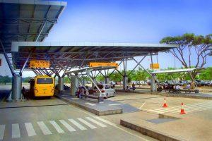 Bus Shuttle n Taxi Point at Terminal 3
