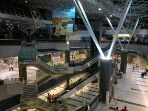 Interior del Aeroporto de Recife