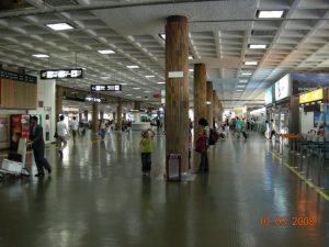 Jeju Airport Vinyl Columns