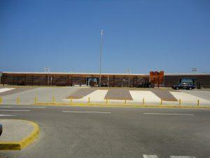 Fachada Aeropuerto Iqq