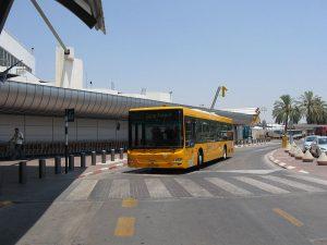 Transporte en el Aeropuerto de Tel Aviv