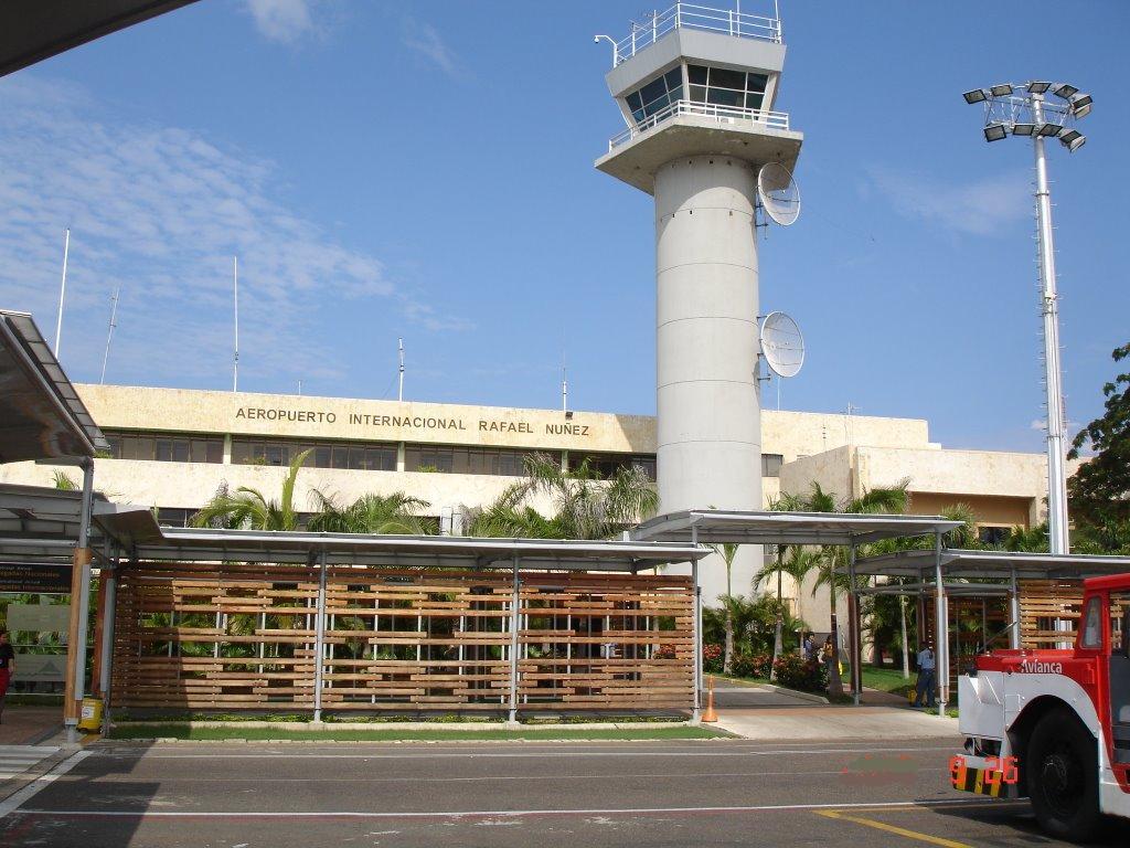 Aeropuerto internacional de cartagena de indias ctg for Cajeros en el aeropuerto
