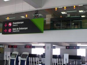 Sala de Embarque del Aeropuerto de Piura