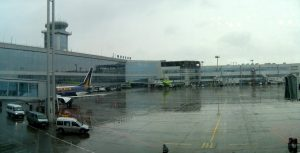 Inside of Domodedovo Airport