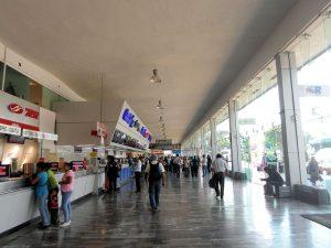 Autobuses del Sur- venta de Boletos en la terminal