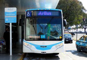 Arbus, transporte del Aeropuerto Jorge Newbery.