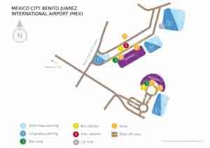Planos del Aeropuerto de México