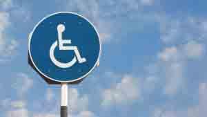 Pasajeros con discapacidad.