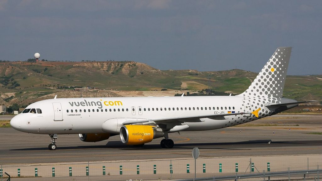 Vueling aerolinea española