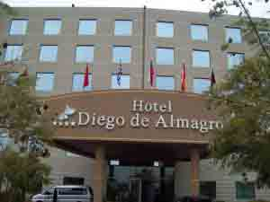 Hotel Diego de Almagro - Santiago, Chile