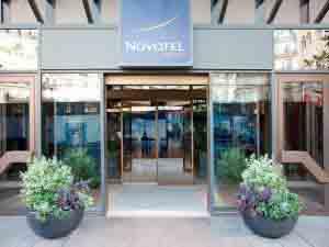Hotel Novotel en París.