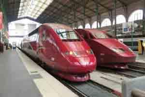 Thalys trains