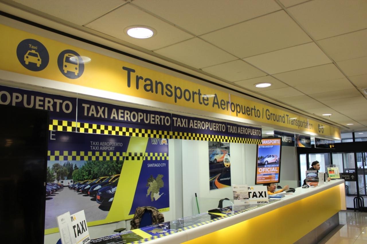 Taxis - Aeropuerto Internacional Comodoro Arturo Merino Benítez ...