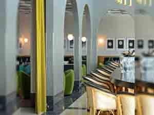Restaurante I love Paris en el Aeropuerto de París Charles de Gaulle.