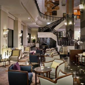 Interior del hotel Meliá Victoria.