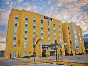 Hotel City Express de Guadalajara.