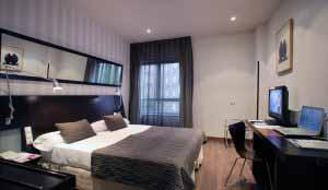 Habitación en Petit Palace Madrid Aeropuerto.