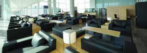 Sala VIP Colomer en el Aeropuerto de Barcelona - El Prat.