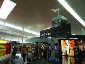 Restaurantes en el Aeropuerto de Barcelona - El Prat.