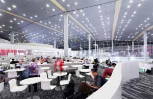 Salas VIP de la aerolínea Avianca en el Aeropuerto Dorado.