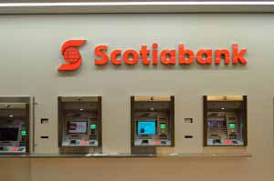 Scotiabank ATM.