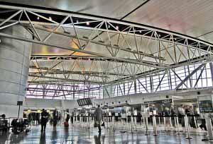 Al llegar al aeropuerto volverás a pasar por MIgraciones y Aduanas.