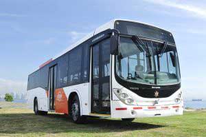 Buses de la flota MiBus