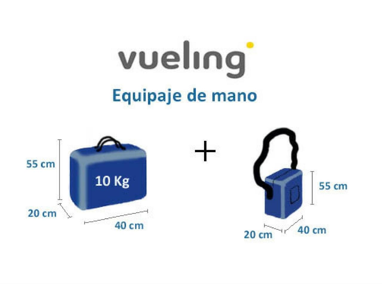 abd7e1a1e Qué equipaje de mano se puede llevar en Vueling? - Aeropuertos.Net