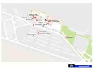Plano - Parking Aeropuerto de Asturias